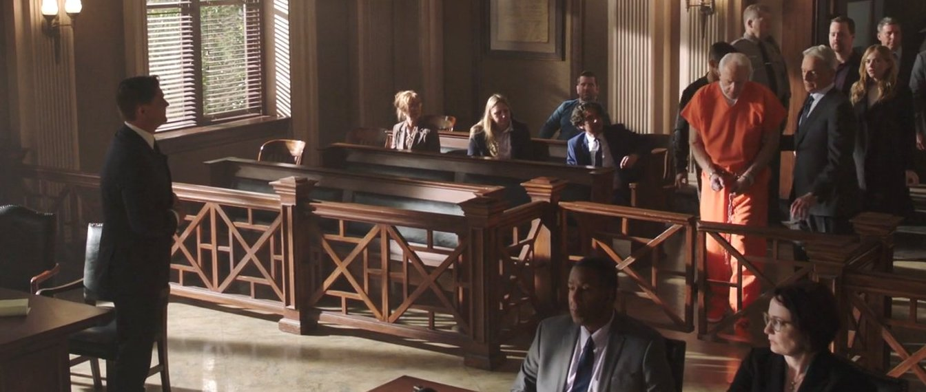 Mircea Oprea in CBS's NCIS . . . and Executioner (S16:E22) playing a Defense Attorney