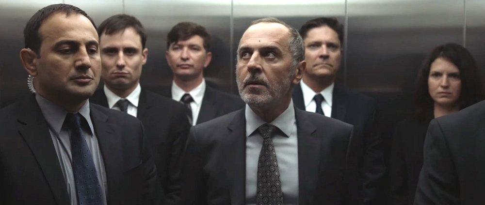 Mircea Oprea playing Russian Secret Service Agent GRU on Showtime's Homeland Prisoners Of War